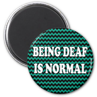 Being Deaf is Normal Magnet