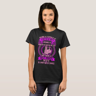Being Forklift Operator's Wife Is Matter Of Choice T-Shirt