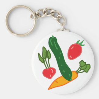 Being fresh, illustration goods FRESH and of the t Key Ring