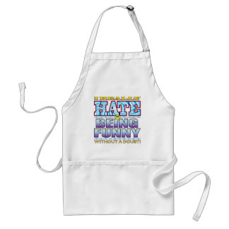 Being Funny Hate Face Standard Apron