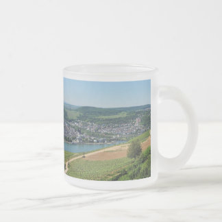 Being gene on the Rhine Frosted Glass Coffee Mug