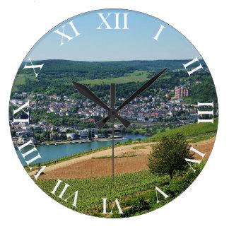 Being gene on the Rhine Large Clock
