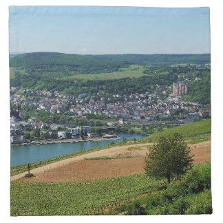 Being gene on the Rhine Napkin