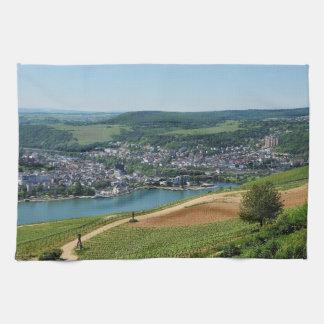 Being gene on the Rhine Tea Towel