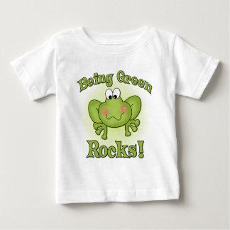 Being Green Rocks t-shirt