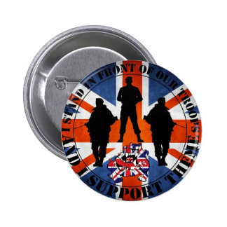 Being located in front OF our Troops 6 Cm Round Badge