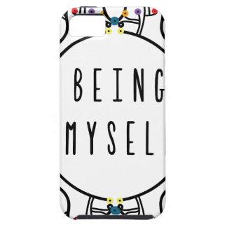 Being myself iPhone 5 cases
