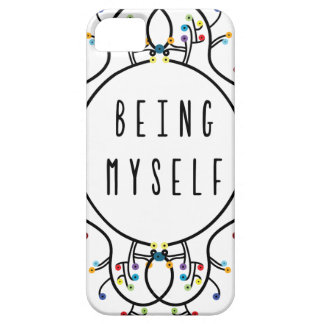 Being myself iPhone 5 cover