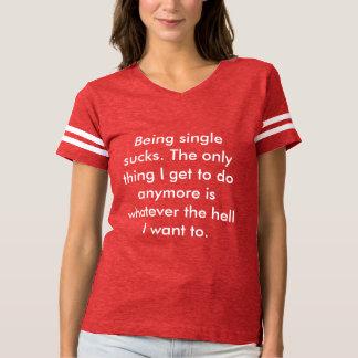 Being single tee
