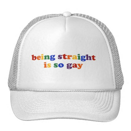 Being Straight... Hat