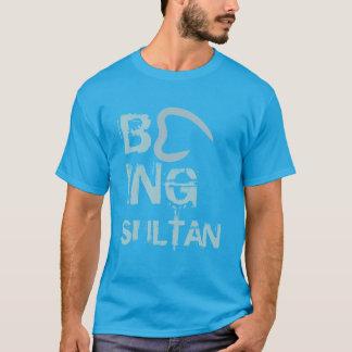 Being Sultan Men's Basic Dark T-Shirt