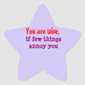 Being Wise -  Words of wisdom Stickers