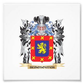 Beinosovitch Coat of Arms - Family Crest Photo Print
