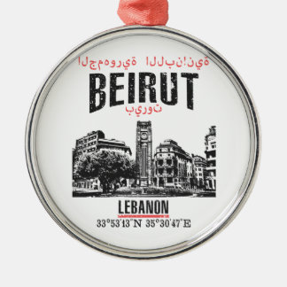 Beirut Metal Ornament