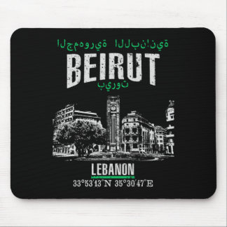 Beirut Mouse Pad
