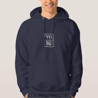 Beirut's Digit #961 Hooded Sweatshirt for Men