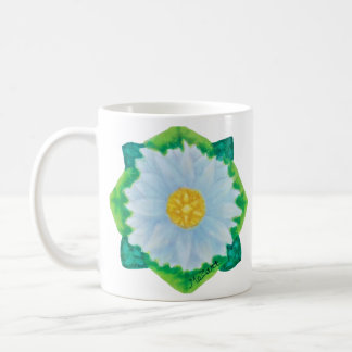 Bejeweled Daisy Coffee Mug