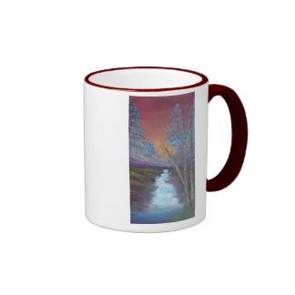 Bejeweled Sunset Ringer Mug