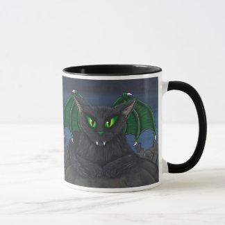Bela Vampire Cat Gothic Fantasy Art Mug