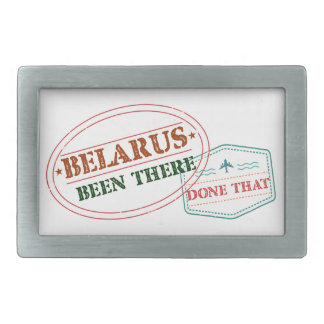 Belarus Been There Done That Belt Buckle
