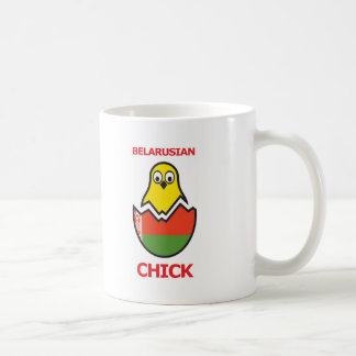 Belarus Chick Coffee Mug