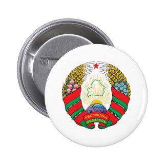 Belarus Coat Of Arms 6 Cm Round Badge