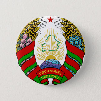 belarus emblem 6 cm round badge