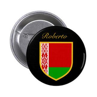 Belarus Flag 6 Cm Round Badge