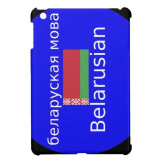 Belarus Flag And Language Design Case For The iPad Mini