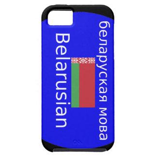 Belarus Flag And Language Design Tough iPhone 5 Case