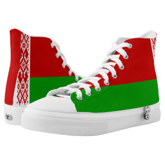 Belarus Flag High Tops