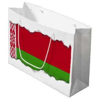 Belarus Flag Large Gift Bag