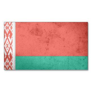 Belarus Flag Magnetic Business Cards
