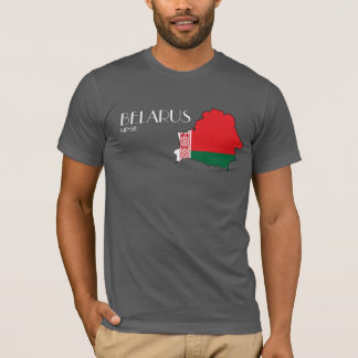 Belarus Flag Map Shirt