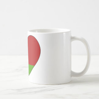 Belarus Flag Simple Coffee Mug