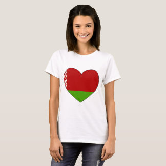 Belarus Flag Simple T-Shirt