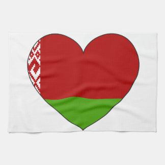 Belarus Flag Simple Tea Towel