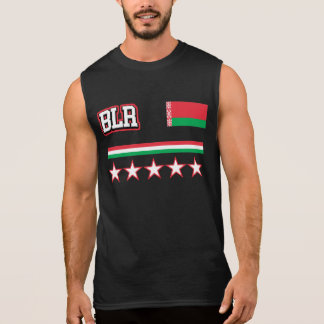 Belarus Flag Sleeveless Shirt