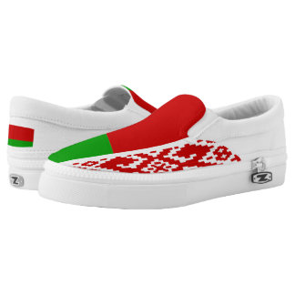 Belarus Flag Slip-On Shoes