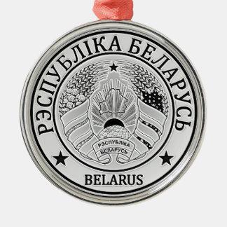 Belarus  Round Emblem Metal Ornament
