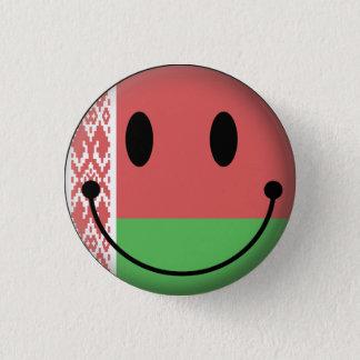 Belarus Smiley 3 Cm Round Badge
