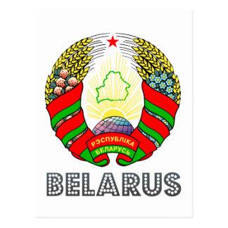Belarusian Emblem Postcard