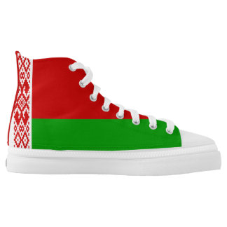 Belarusian Flag High Tops