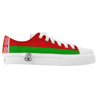 Belarusian Flag Low Tops