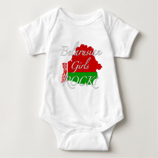 Belarusian Girls Rock! Baby Bodysuit