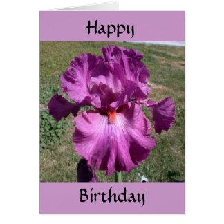 Belated Birthday - Reminder Card