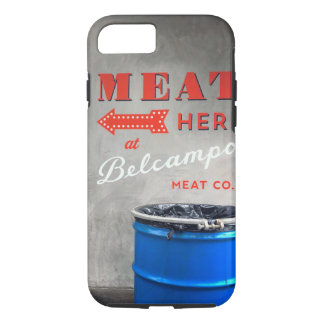 Belcampo Meat Here phone case
