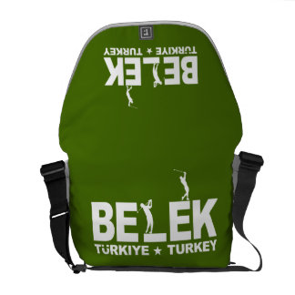 BELEK GOLF custom messenger bag
