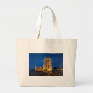 Belem to tower, Lisbon Jumbo Tote Bag