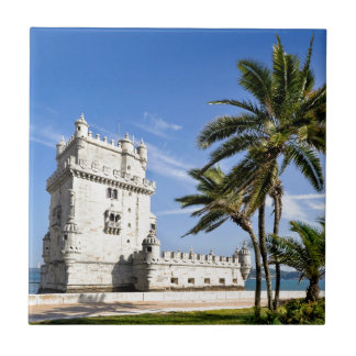 Belem Tower, Lisbon, Portugal Tile